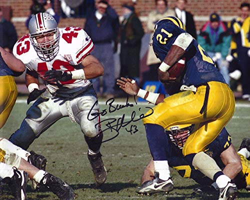 (Ryan Miller OSU 8-3 8x10 Autographed Photo - Certified Authentic)