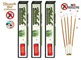 MMR Making Marvelous Blockade Herbal Natural Mosquito Repellent Citronella Incense Agarbatti Stick (360 and 30) 390 Sticks
