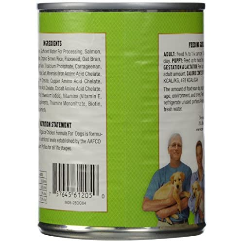 durable service Newman's Own Organic Dog Food, Canned Chicken Formula, 12.7 oz