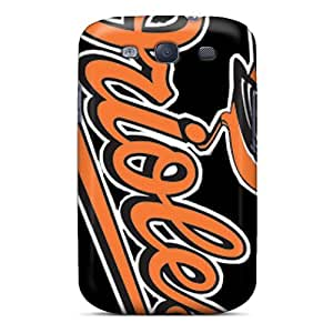 Best Hard Phone Covers For Samsung Galaxy S3 (QBE10152FtHC) Customized Attractive Baltimore Orioles Skin