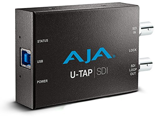 AJA U-TAP SDI Simple USB 3.0 Powered SDI Capture Device ()