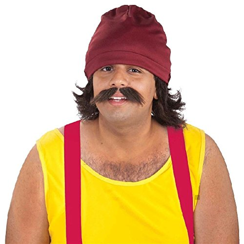 Cheech and Chong Costume Kits Funny 70s Adult Halloween Fancy (Cheech And Chong Girl Costumes)