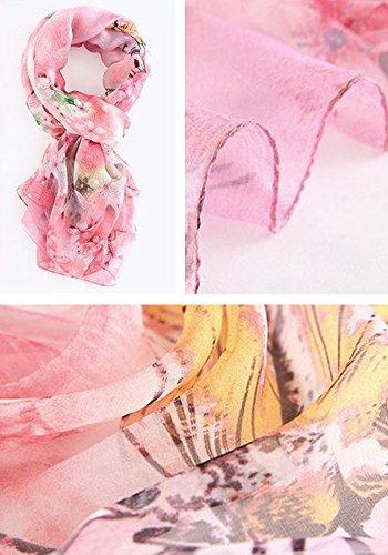 Beach Estate Stile seta i 15 Primavera Sciarpa Sunscreen 07 elegante Tutti colori Moda 180 donna per e Stampato 110cm Resistant di Sun 5 8FatwqW
