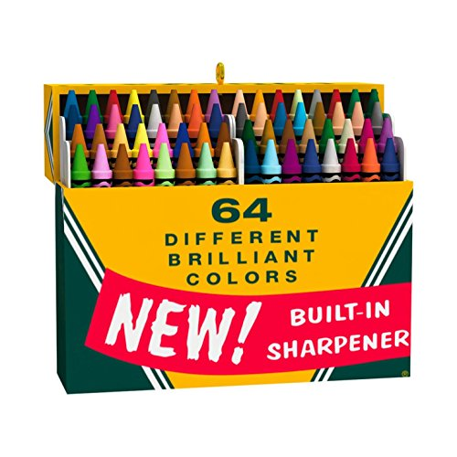 Ornament Crayola - Hallmark Keepsake Ornament: Crayola Crayons Big Box of 64