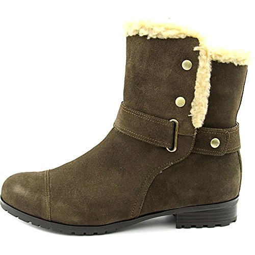 Closed Bernini Ankle Army Boots Faux Cold LOTII Weather Fur Toe Giani Womens Xq6qB
