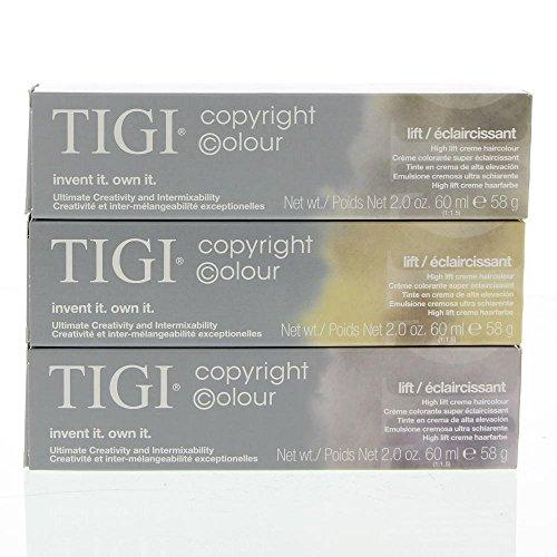 Tigi Copyright Colour Lift 100/88 Ultra Light Intense Ash Blonde 2 oz by TIGI