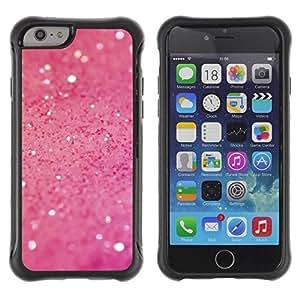"Pulsar iFace Series Tpu silicona Carcasa Funda Case para Apple (4.7 inches!!!) iPhone 6 , Pink Glitter Luminoso Antecedentes Glamorous"""