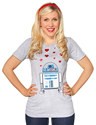 Her Universe Star Wars R2-D2 W/ Hearts Youth Tee -