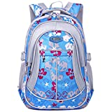Best Coofit Books Kids - Coofit Flowers Pattern Backpacks for Girls Elementary School Review