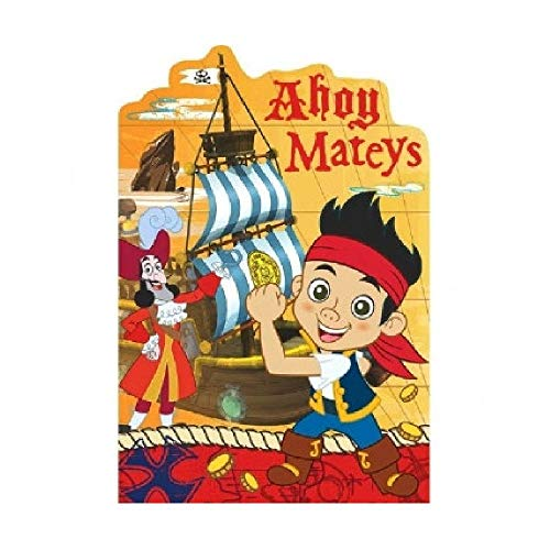 Bargain World Jake and The Neverland Pirates Invitations (8/pkg) (with Sticky -