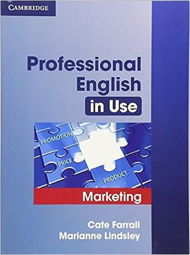 решебник professional english in use