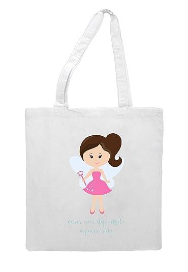 Sac fourre tout Little Fairy Personnage 06 Brunette