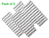 2 Pack Steam Mop Pads Replacement for Shark Lift-Away Pro Steam Pocket Mop and Genius Steam Pocket Mop Series, Model S3973 S3973D S3973WM S5001 S5002Q S5003D S5003A S6001W S6001WM S6002 S6003W (Two)