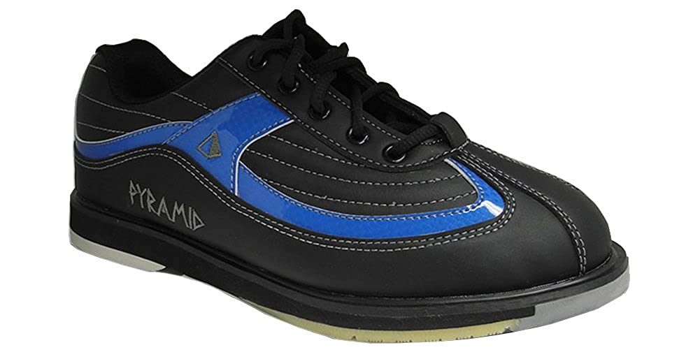 Pyramid Men's Ra SS Black/Blue Right Handed Bowling Shoes