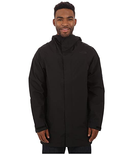 34d3eee5a Amazon.com: The North Face Men's El Misti Trench Coat, TNF Black SM ...