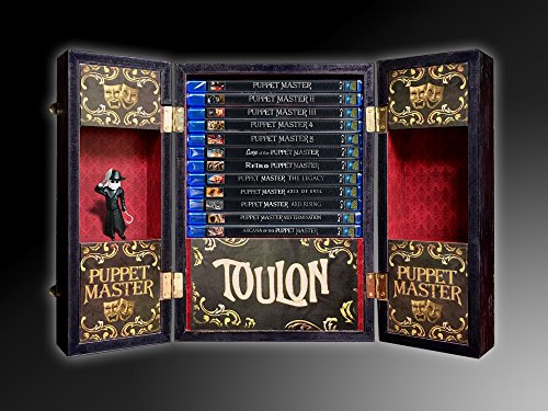 PUPPET MASTER COLLECTION [Toulon's Ultimate Collectible Trunk] (Blu-ray - 13 Disc Set) by Full Moon Pictures