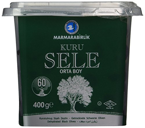 Marmarabirlik Exclusive Black Olive 14 oz. (Kuru Sele)