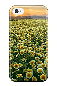 Hot 5701539K25461416 High Quality Flower Case For Iphone 4/4s / Perfect Case