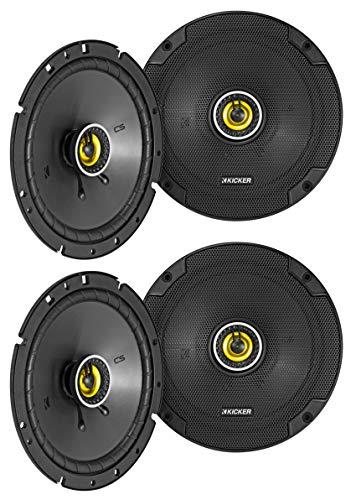 (4) KICKER 46CSC674 6.75″ 6-3/4″ 600w 4-Ohm Car Audio Coaxial Speakers CSC674