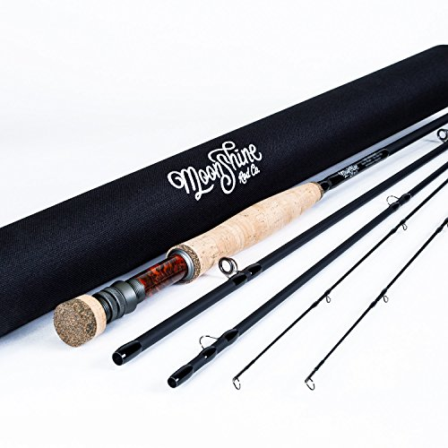 Moonshine Rod Co. The Epiphany Fly Fishing Rod (3wt 10' 6