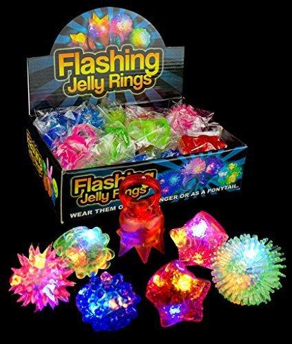 Flashing Led Light Rings - 9