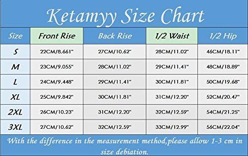 Ketamyy Men Breathable Silicone Pad Cycling Underpants 3D Padded Cycling Underwear Cycling Shorts