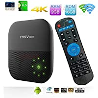 SUSAY 2018 the Latest T95V Pro Android 7.1 TV Box Amlogic S912 Octa Core 2GB/16GB Dual 2.4/5G Wifi Bluetooth 4K Mini PC