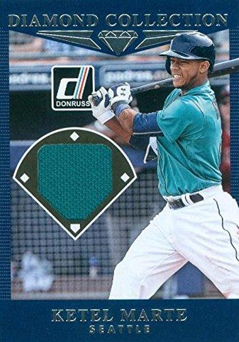 the best attitude 73681 6d8b8 Ketel Marte player worn jersey patch baseball card (Seattle ...