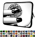 Funky Planet 17' 17.3' inch Laptop Sleeve Case Bag Compatible with Apple MacBook air pro Dell Lenovo Samsung Asus Computer Tablet or Ipad