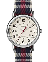 Timex Unisex TW2P89600 Weekender Analog Display Quartz Red Watch