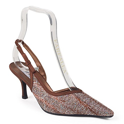 FARFALLA Luxury Shoes Brown WiLnX