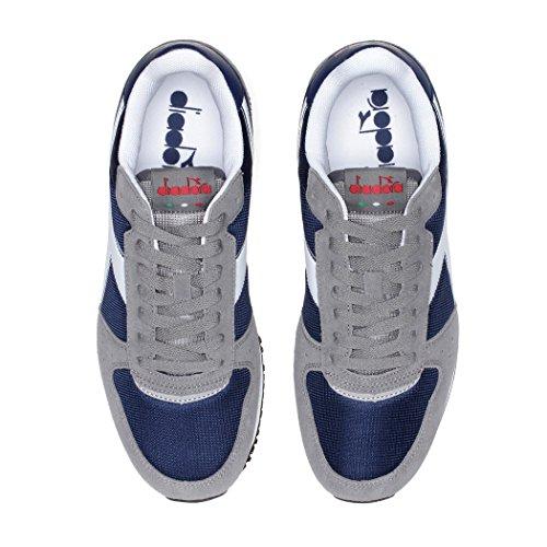 Diadora Malone, Unisex Adults' Low Trainers true blue / vintage white