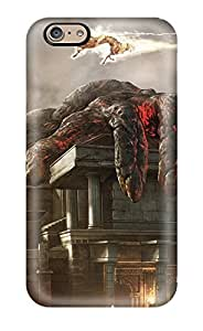 New Fashion Premium Tpu Case Cover For Iphone 6 - God Of War Sending Screen Protector in Free