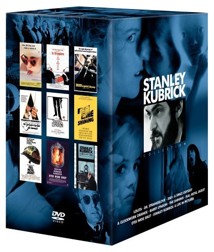 Stanley Kubrick Collection (2001: A Space Odyssey / Dr. Strangelove / A Clockwork Orange / The Shining / Lolita / Barry Lyndon / Full Metal Jacket / Eyes Wide - Box Kubrick