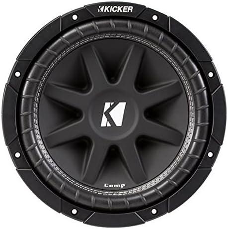 Compatible with Dodge Ram 02-12 Quad Cab Truck Single 10 Kicker C10 Sub Box Enclosure 300 Watts Peak