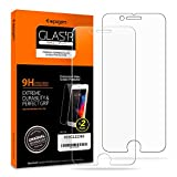 Spigen iPhone 8 Plus Screen Protector Tempered Glass 2 Pack [ Case Friendly ] for Apple iPhone 8 Plus (Pack of 2)
