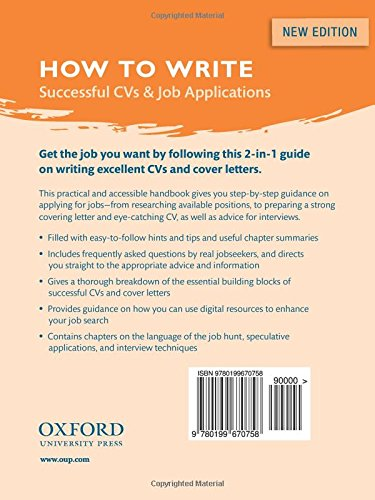 How To Write Successful Cvs And Job Applications Amazonde Judith Leigh Fremdsprachige Bucher