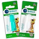 Brilliant Baby Finger Toothbrush - Silicone Gum