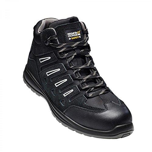 sécurité EU Homme Regatta de Montantes 39 Chaussures Noir FwRqRt