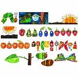 Little Folk Visuals LFF-228 Little Folk Visuals The Very Hungry Caterpillar Flannel Board Precut Felt Figures