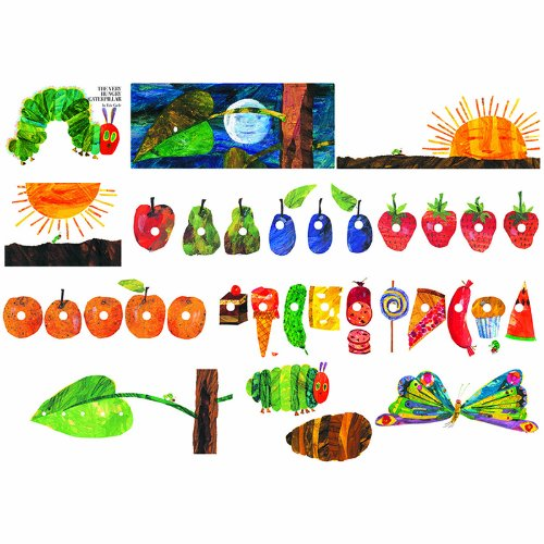 Little Folk Visuals LFF-228 Little Folk Visuals The Very Hungry Caterpillar Flannel Board Precut Felt Figures