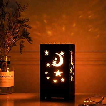 Proyector de luz nocturna de cielo estrellado, Star Moon, lámpara ...