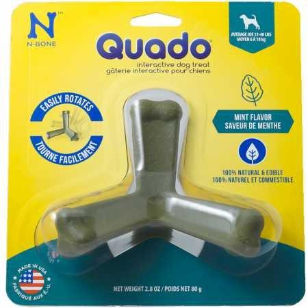 Quado Interactive Dog Chew Treat Mint, Average Joe