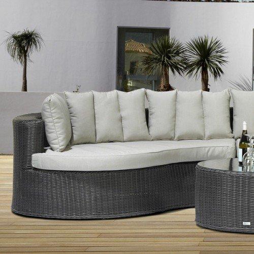 Alu-/Geflecht Lounge Avero