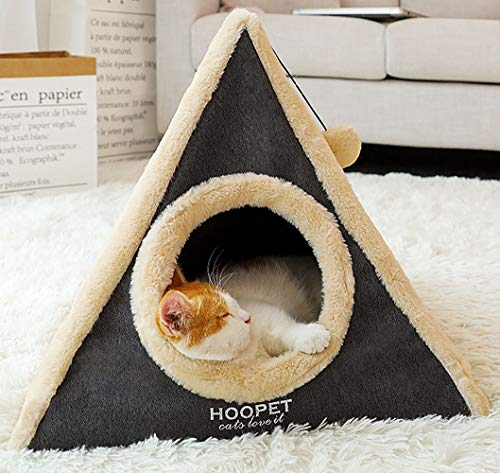 MaruPet Pet Warm Products and Store Cat Triangle House Tower