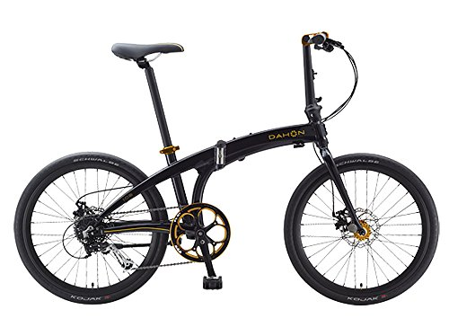 Dahon IOS D9 Black & Gold Folding Bike for sale  Delivered anywhere in USA