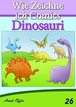 Disegno per Bambini: Come Disegnare Fumetti - Dinosauri (Imparare a