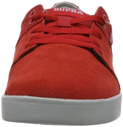RED Rot Supra Erwachsene STACKS Unisex II Sneaker GREY S45106 GREY RGG OxAp0UO