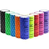 TNP Accessories Foam Roller Grid Beast Massage Pilates Trigger Point Yoga Gym Roller Exercise Revolutionary