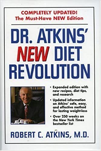 Dr Atkins New Diet Revolution Revised Edition Robert C Atkins Md Amazon Com Books